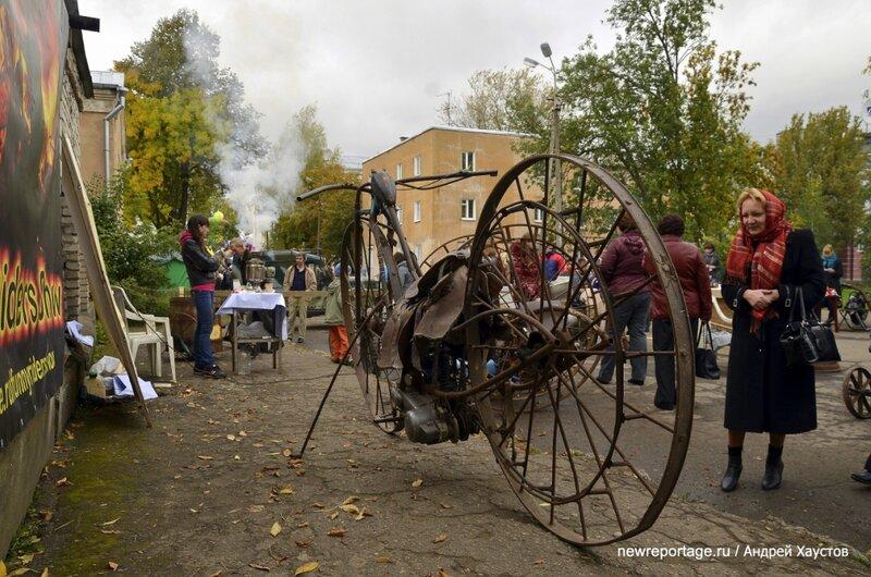 Большой фоторепортаж с фестиваля День Скобаря во Пскове