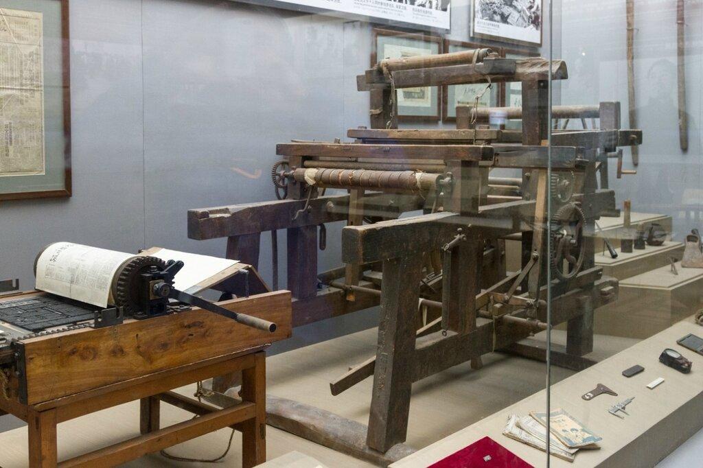 Станок для печати листовок и ткацкий станок