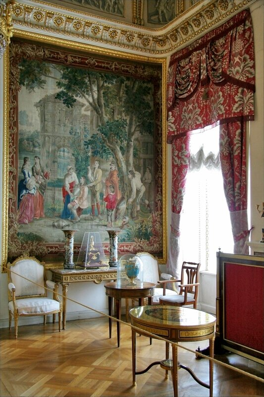 Павловский дворец, Ковровый кабинет