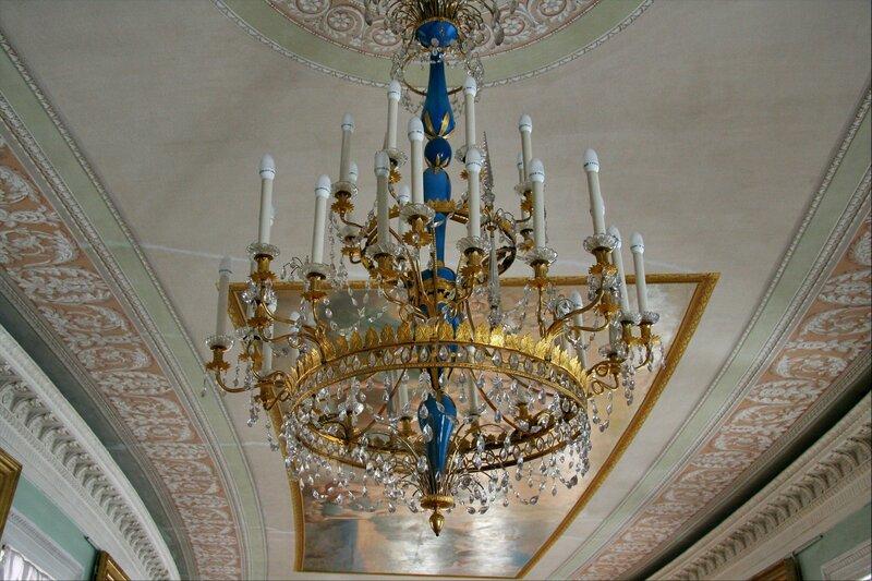 Павловский дворец. Картинная галерея, потолок