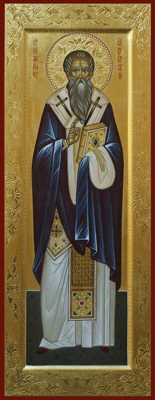 Мерная икона святой Мирон