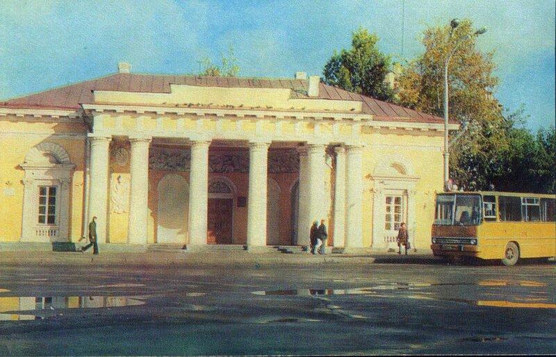 1977 007. Фрагмент здания бывшей гауптвахты