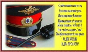 Поздравления с присвоением звания полиции 134