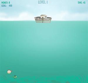 Рыболов Сэм - рыболовная игра на LENV.RU