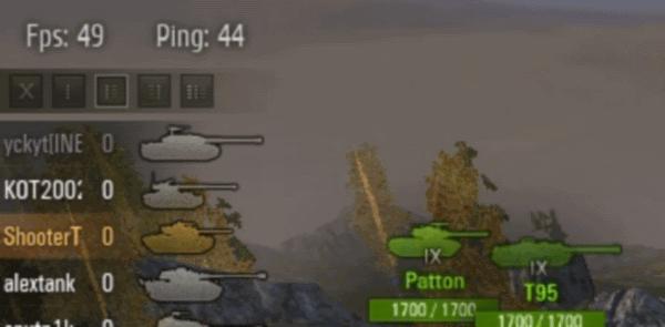 Дебаг панель от DIKEY93 для World of Tanks 0.8.0