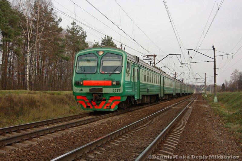 Электропоезд ЭД4М-0323.