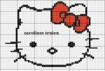 Схемы вязания Hallo Kitty.