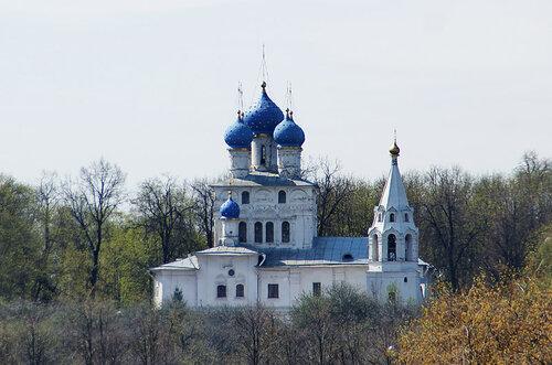 Церковь во имя Казанской иконы Богоматери в Коломенском в Москве.