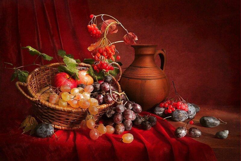 Люблю тебя,мой сладкий виноград!