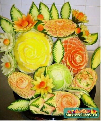 Поделки из овощей и фруктов клипарт