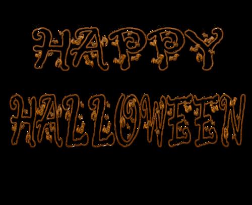 Хэллоуинские надписи