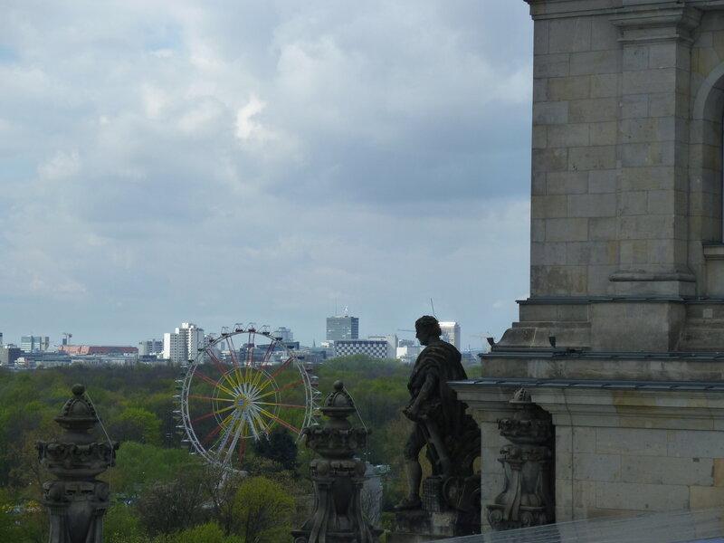 Вид на Тиргартен и Западный Берлин