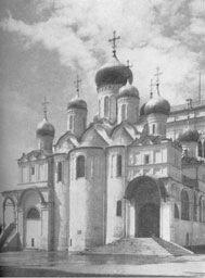 Благовещенский собор в Московском Кремле