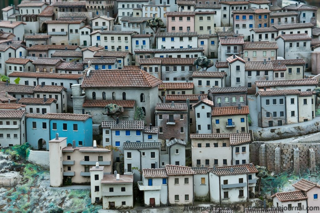 Италия италия в миниатюре парк