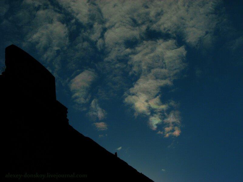 Радужные облака над Мокринским мостом