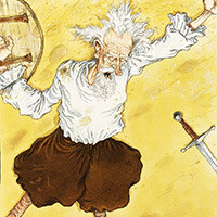 Chris Riddell, Don Quixote