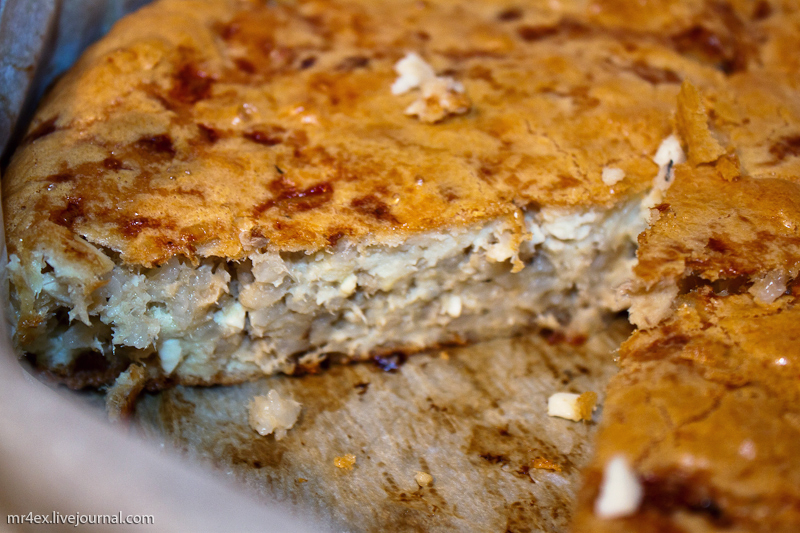 Пирог из сырка рыбы рецепт с фото