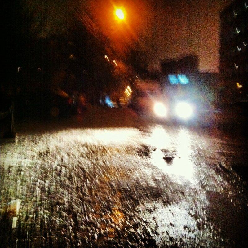 Дождь со снегом. Сокол