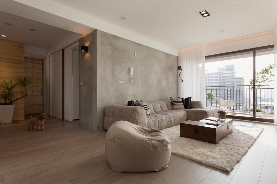 Небольшая квартира в многоэтажном доме в Тайване