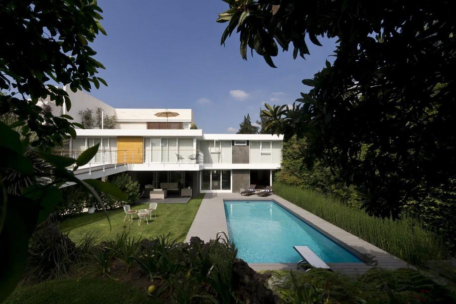 Трехэтажный Casa Oceano в Мексике от SPACE