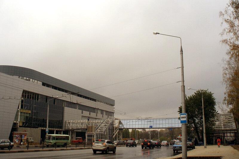 Строящийся переход через Богданку, фото Sergio_bel