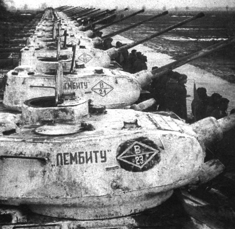 Русские танки №63 - Т-34-85 зимний камуфляж