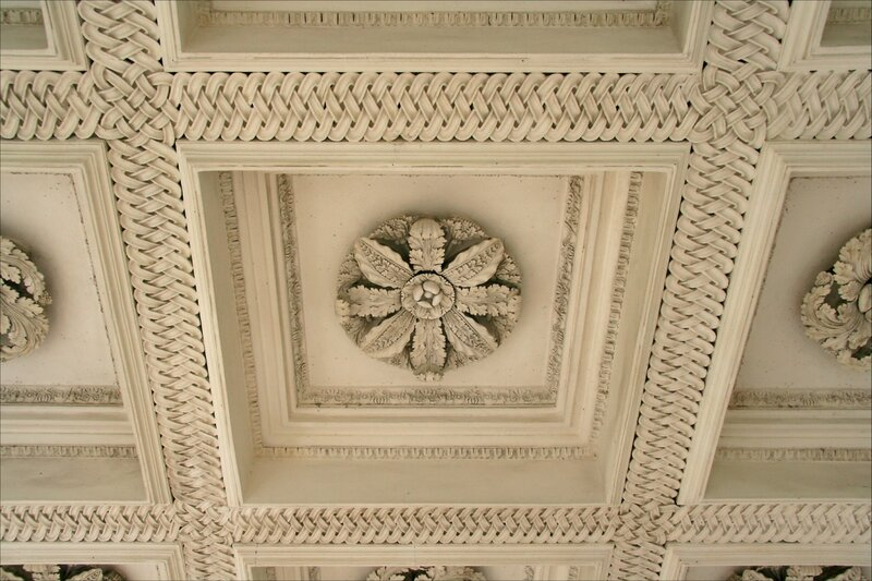 Павловск. Павильон Трех граций, потолок