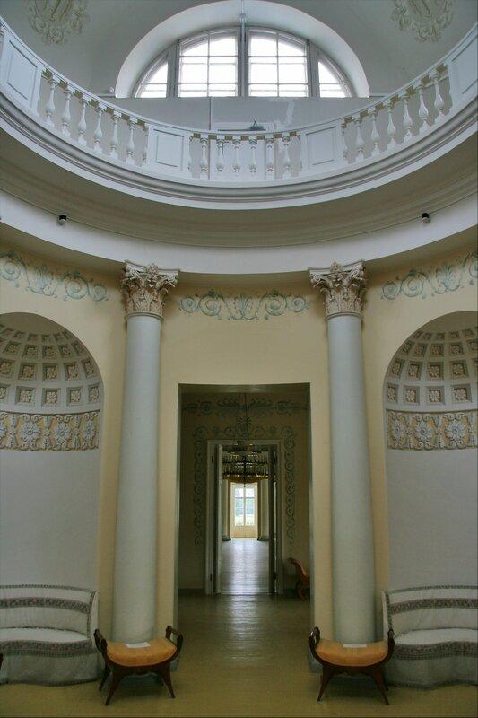 Павловский парк, Розовый павильон