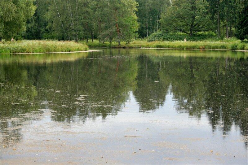 Павловский парк, Большой Розовопавильонный пруд