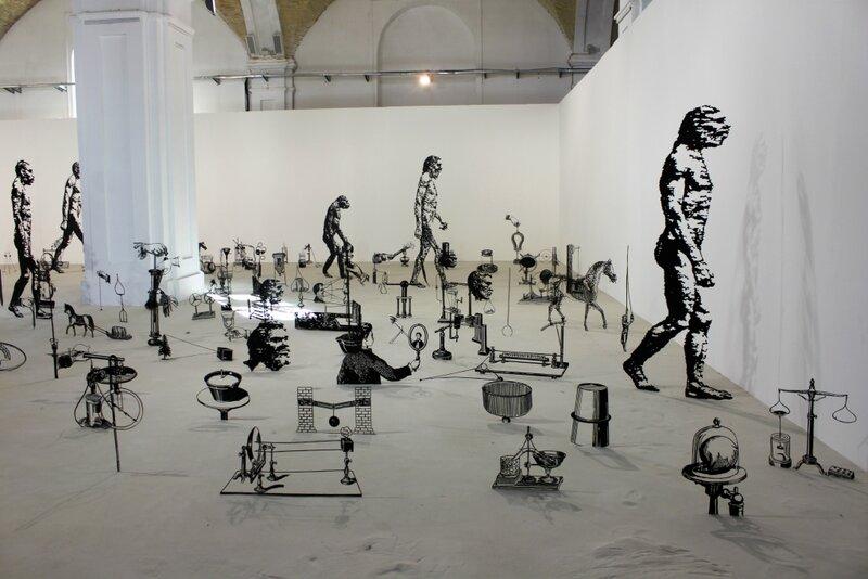 Инсталляция Дарвин и эволюция