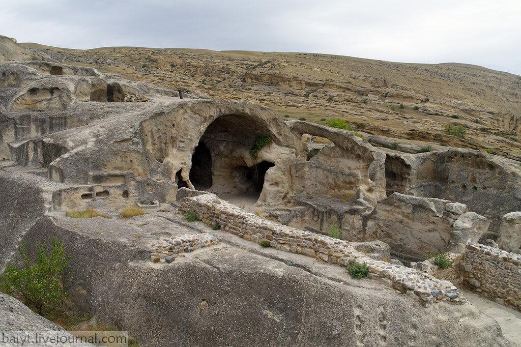 Языческий храм Маквлиани в Уплисцихе - крупнейший из сохранившихся в Грузии.