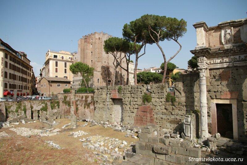 Италия, Рим, Императорские Форумы