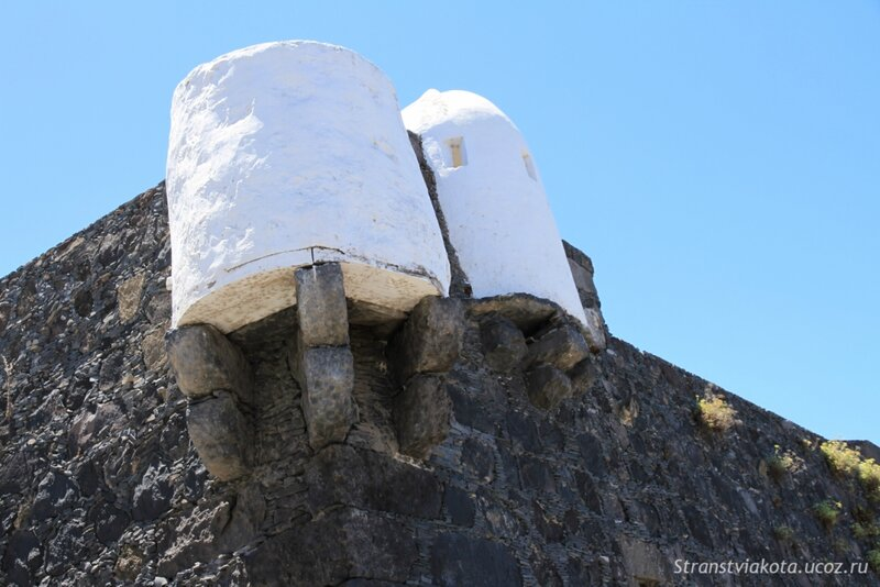 Тенерифе, Garachico, форт Сан Мигель