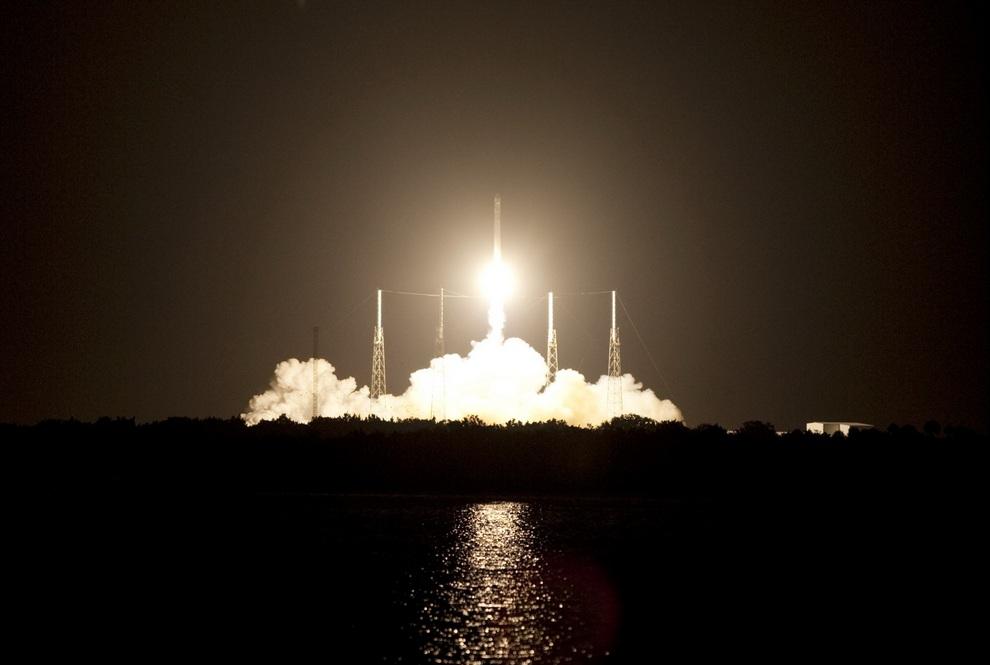 Завораживающие фотографии старта космических кораблей