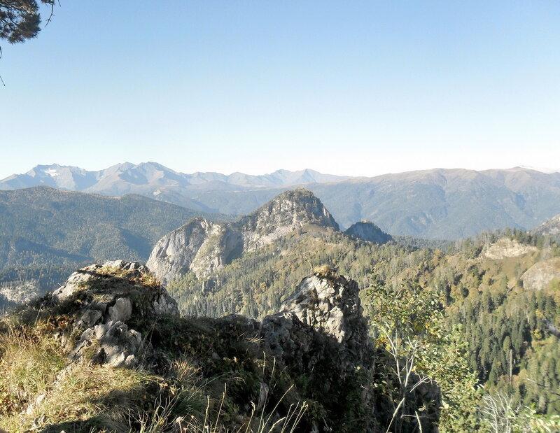 Тхач, горы, Сентябрь 2012
