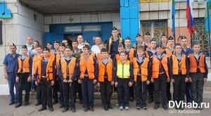 Юные моряки из Комсомольска-на-Амуре отправились в юбилейный шлюпочный поход «Парус Отечества»