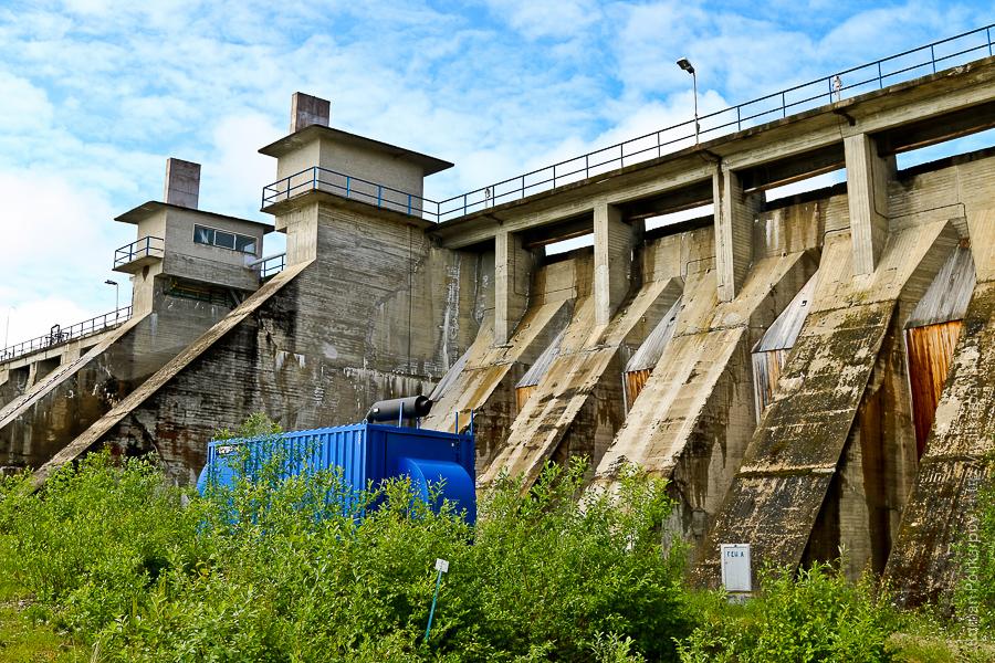 0 cd457 827b31a2 orig Янискоски ГЭС на реке Паз
