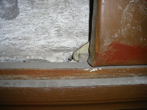 Фото 5. Защёлка этажного щита. Оригинальная конструкция.