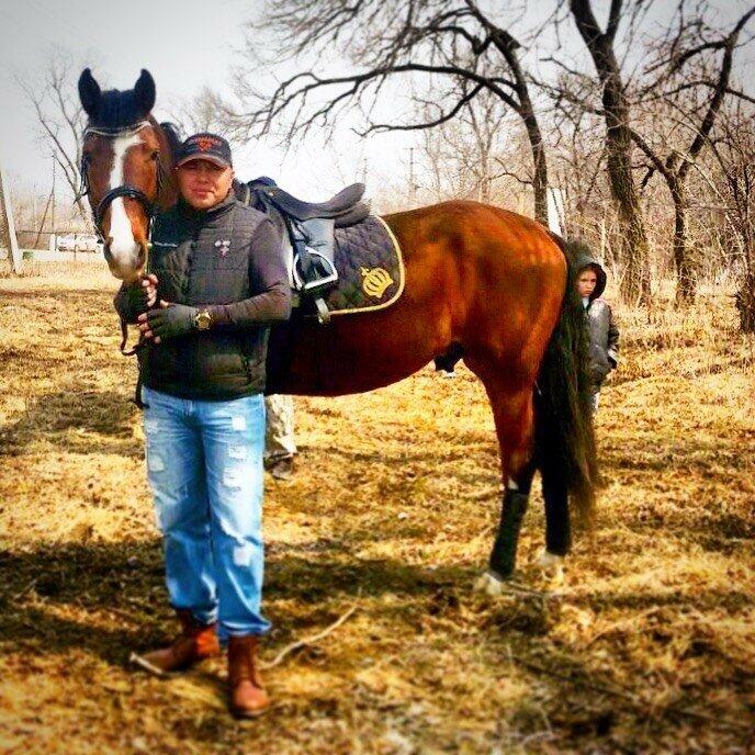 Алексей Теняков с Лошадьми