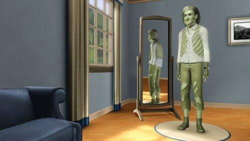 Создание ведьмы  в комнате создания персонажей