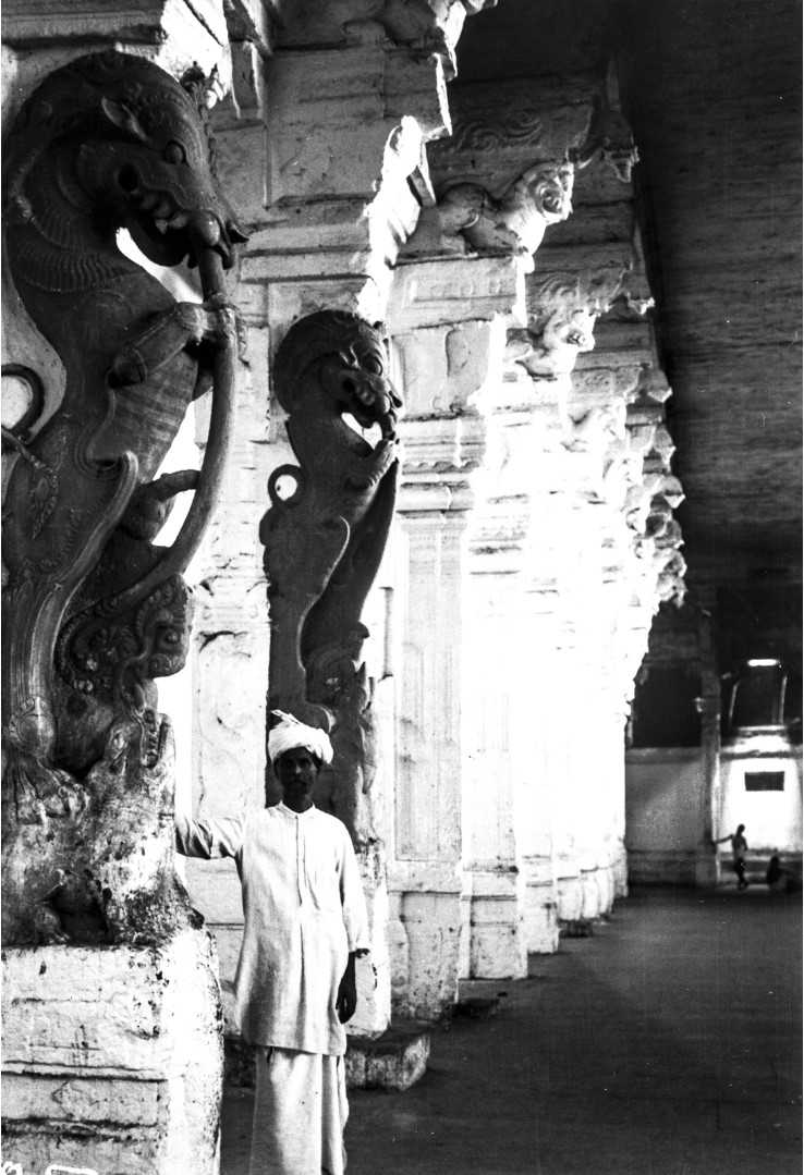 455. Мадрас. Зал с колоннами