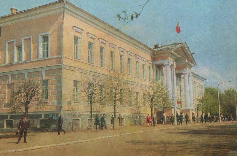1977 008. Здание горисполкома