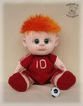 Кукла мальчик крючком описание 164