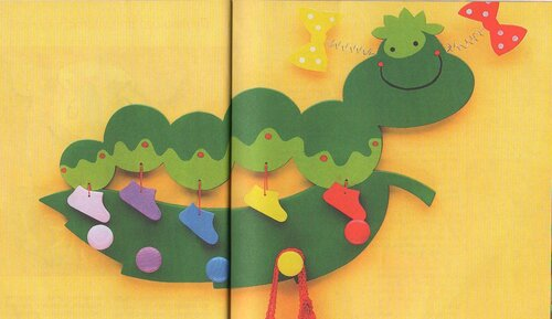 Веселые фигурки из дерева