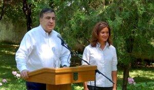 Саакашвили назначил в помощники дочь Егора Гайдара