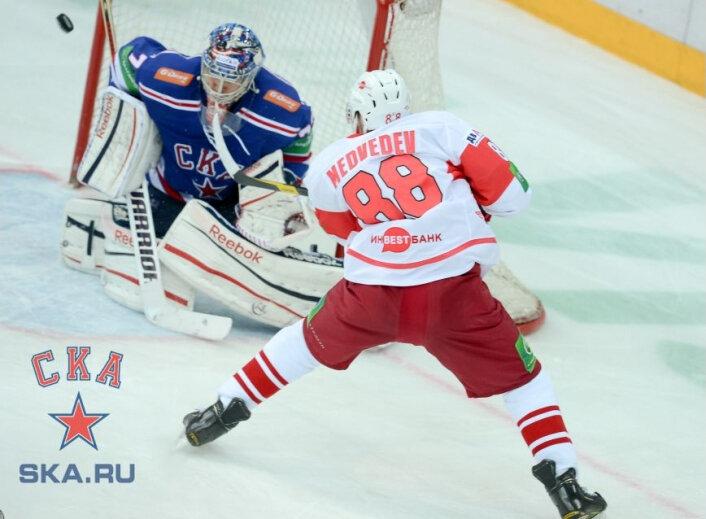 СКА vs «Спартак» 4:1 чемпионат КХЛ 2012-2013 (Фото)