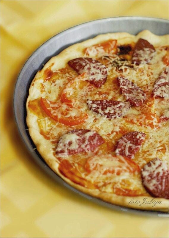 Рецепт теста на пиццу бездрожжевого