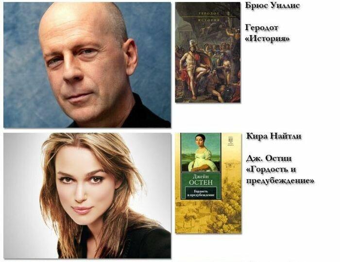 Знаменитости рекомендуют свои любимые книги