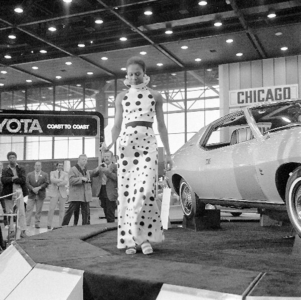 Auto Show,American Motors exhibit,Feb 25 1972