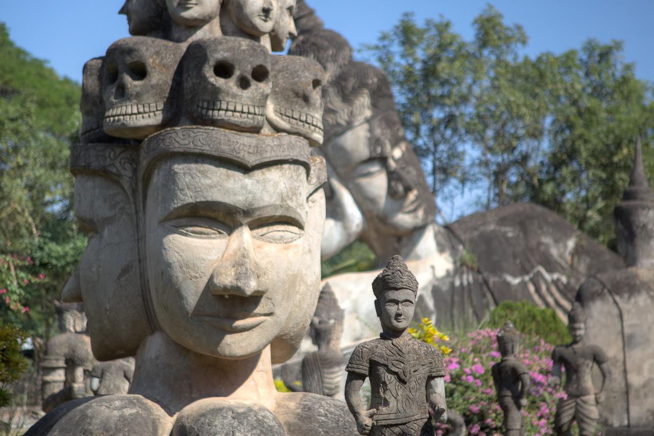 Xieng Khuan (Buddha Park), Vientiane, Laos